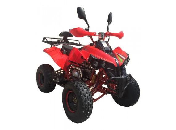 Čtyřkolka Vulcano-3G-dětská 125 ccm-červená