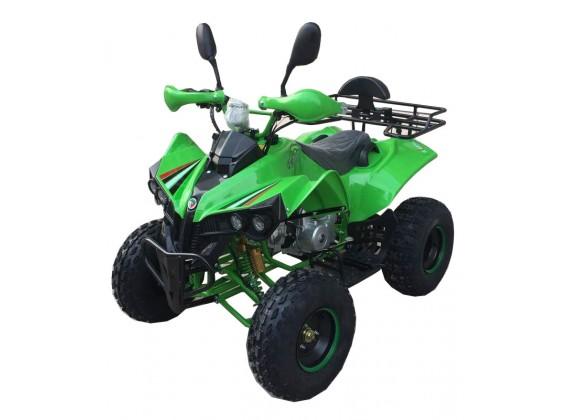 Čtyřkolka Vulcano-3G-dětská 125 ccm-zelená