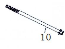 Šroub M10 x 185mm