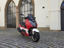 New Maximus  II - 125 ccm - červená/bílá - EURO 4