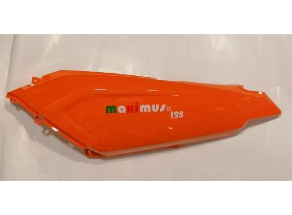 Levý podsedlový kryt oranžový New Maximus II