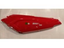 Levý podsedlový kryt červený New Maximus II