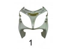 Přední maska bílá