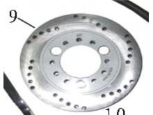 Disk přední brzdy