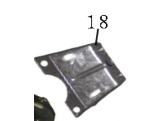 Deska pro uchycení nosiče