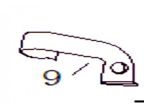 Držák náhonu tachometru