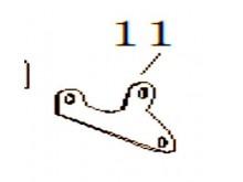 Držák brzdové hadičky