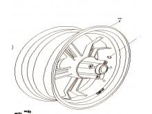 Zadní ráfek kola MT2.50×12