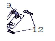 Samořezný šrouby ST4.2×12mm