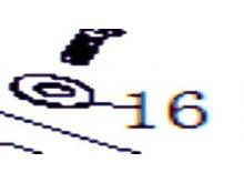Podložky?6×?16×1mm
