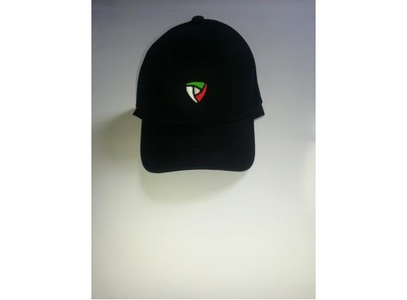 Čepice s kšiltem černá