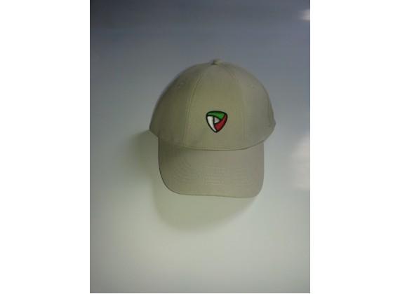 Čepice s kšiltem bílá