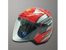 Helma Capirelli A8 red/silver L