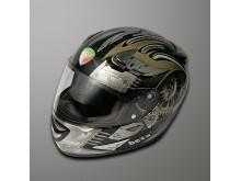 Helma Bella  D2 černá/stříbrná