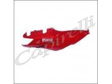 Pravý zadní podsedlový plast - červený