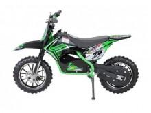 Dětská elektro minicros motorka Gepard 36V / 800W - zelená