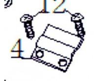 Držák krytu nádrže