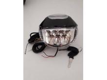 Přední LED světlo s displejem a starterem pro elektrokoloběžku URBANO II