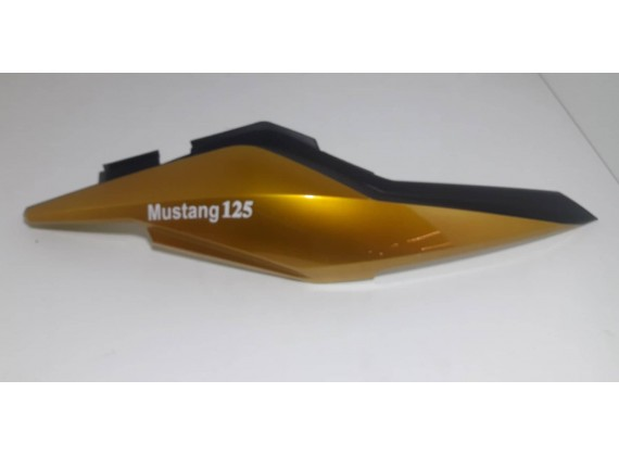 Boční dekorativní plast pravý, zlatý Mustang