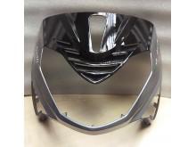 Hlavní čelní maska Adonice stříbrná