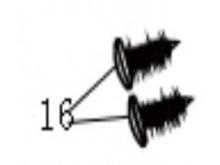 Samořezné vrutyST 4.8×16
