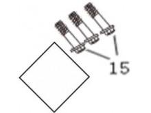 Šrouby pro uchycení nosiče