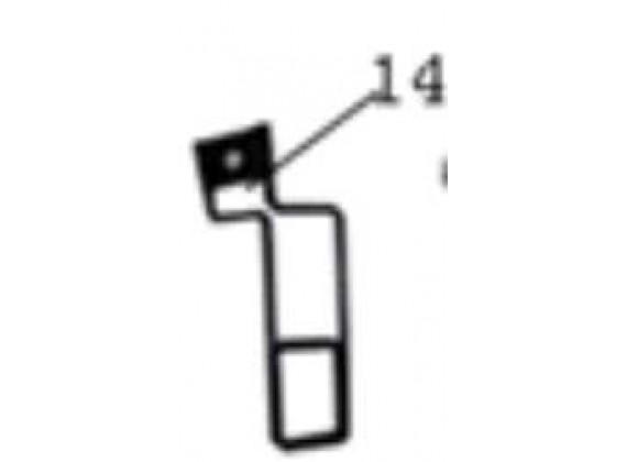 Držák kabelu brzdy