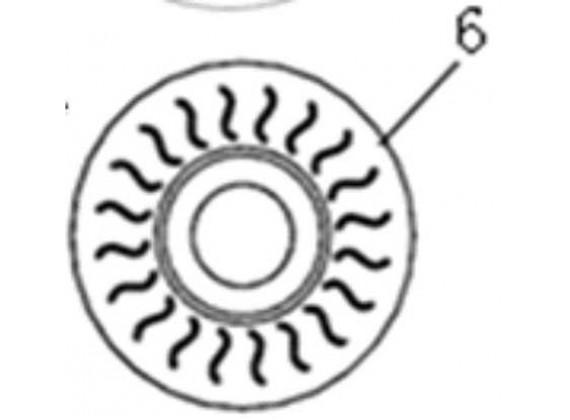 Brzdový disk přední