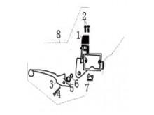 Brzdová sestava přední brzdy