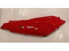 Pravý podsedlový plast červený New Maximus II