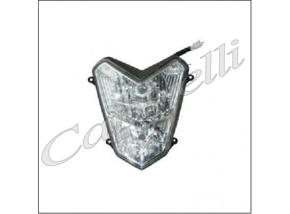 Hlavní přední světlo 12V/35W/35W - Torino