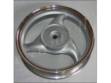 Zadní ráfek - model 50ccm - stříbrný