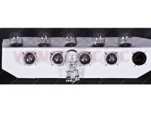 žárovka 12V 5W (patice W2,1x9,5d/ T10) NARVA (sada 10 ks)