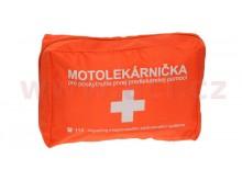 motolékárnička SK - textilní (výbava dle platné vyhlášky MZ SR 143/2009 z.z., oranžová)