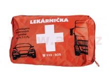 autolékárnička SK - textilní (výbava dle vyhlášky MZ SR č.143 / 2009) oranžová