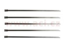 stahovací páska nerezová typ W4, 7,94x500 mm (sada 5 ks)