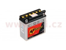 baterie 12V, 12N5,5-3B, 6Ah, 60A, BANNER Bike Bull 135x60x130
