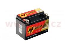 baterie gelová 12V, GT12A-4, 10Ah, 185A, BANNER Bike Bull GEL 150x87x106