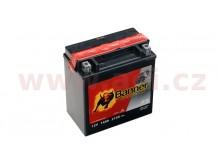 baterie 12V, YTX16-BS, 14Ah, 210A, BANNER Bike Bull AGM 150x87x161