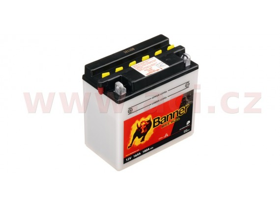 baterie 12V, YB16B-A1, 16Ah, 180A, BANNER Bike Bull 160x90x161