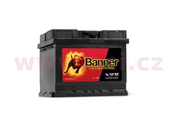 44Ah baterie, 360A, pravá BANNER Starting Bull 210x175x175