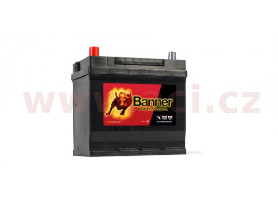 45Ah baterie, 300A, levá BANNER Starting Bull 218x135x203(225)