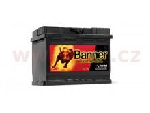 62Ah baterie, 510A, pravá BANNER Starting Bull 241x175x190