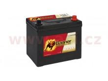 65Ah baterie, 550A, pravá BANNER Running Bull EFB 233x173x203(225)