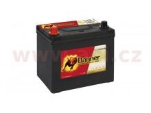 65Ah baterie, 550A, levá BANNER Running Bull EFB 233x173x203(225)