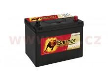 70Ah baterie, 680A, pravá BANNER Running Bull EFB 260x174x200(222) (pro vozidla Mazda, Mit