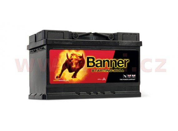 70Ah baterie 640A, pravá BANNER Starting Bull 278x175x175