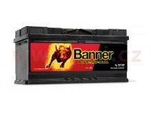 88Ah baterie, 660A, pravá BANNER Starting Bull 354x175x175