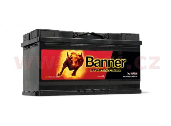 95Ah baterie, 740A, pravá BANNER Starting Bull 354x175x190