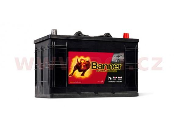 110Ah baterie 800A, pravá BANNER Buffalo Bull 344x175x214(230)